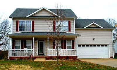 Clarksville TN Single Family Home Under Contract - Not Showing: $182,000