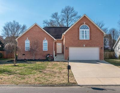 Mount Juliet TN Single Family Home For Sale: $299,999