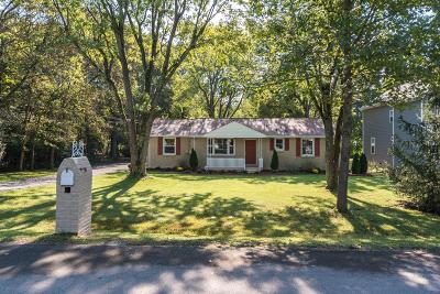 Old Hickory Single Family Home For Sale: 103 Hickerson St