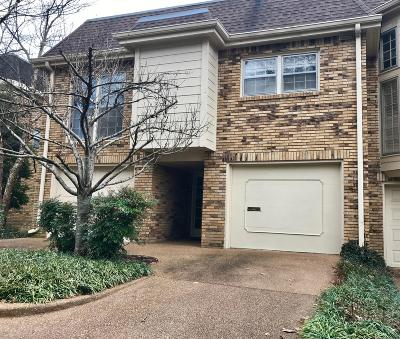 Nashville Condo/Townhouse Under Contract - Not Showing: 401 Bowling Ave Unit 51