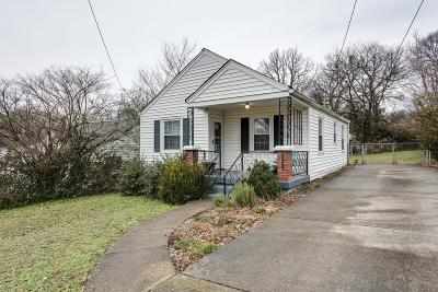 Nashville Single Family Home For Sale: 535 Edwin St