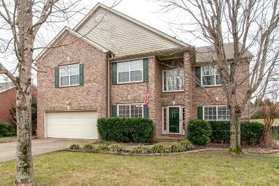 Nashville Single Family Home Under Contract - Showing: 5137 Traceway Dr