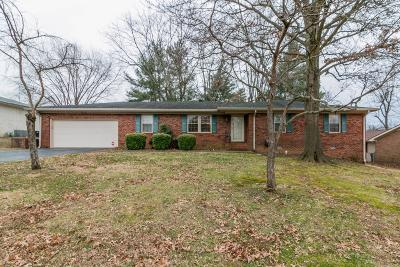 Christian County Single Family Home For Sale: 215 Mark Drive