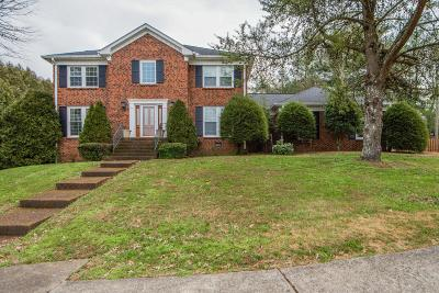 Brentwood  Single Family Home For Sale: 729 Edmondson Pike