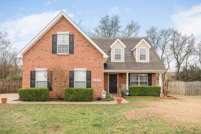 Murfreesboro Single Family Home For Sale: 3317 Cornerstone Dr