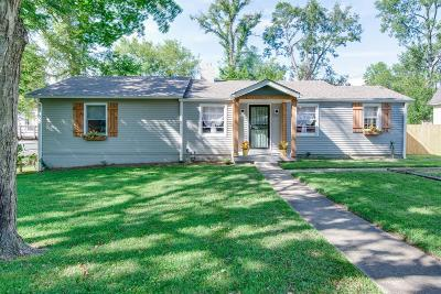 Nashville Single Family Home Under Contract - Showing: 207 Queen Ave