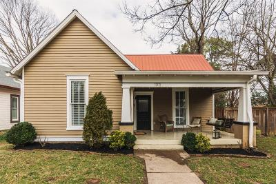 Nashville Single Family Home Under Contract - Showing: 1911 Russell St