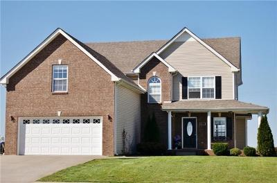 Clarksville Single Family Home For Sale: 1281 Apple Blossom Rd