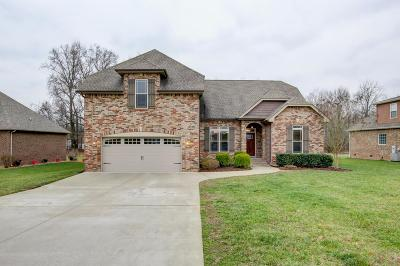 Clarksville Single Family Home For Sale: 4256 Sango Rd