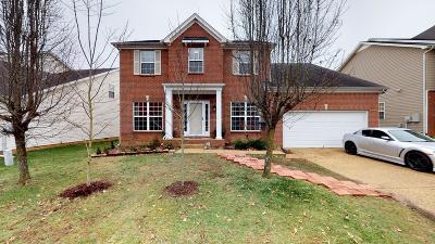 Spring Hill Single Family Home For Sale: 2867 Faith Ln