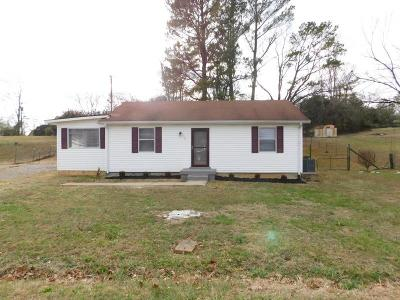 Clarksville TN Single Family Home For Sale: $104,900