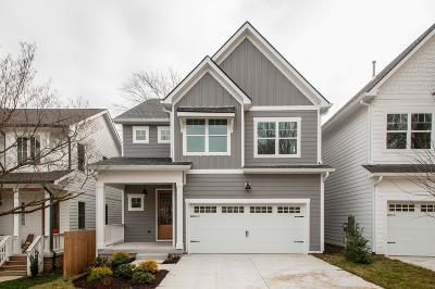 Nashville Single Family Home For Sale: 1513 Hayden Dr