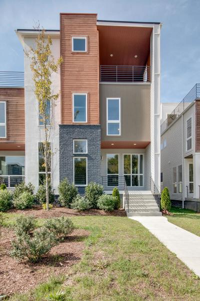 Nashville Single Family Home For Sale: 419 B 35th Ave N