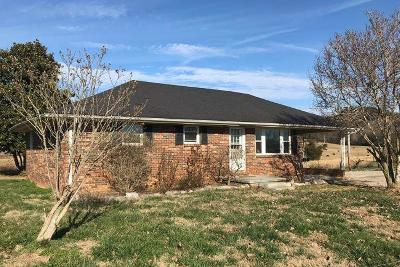 Sparta Single Family Home Under Contract - Not Showing: 2086 Old Smithville Hwy N