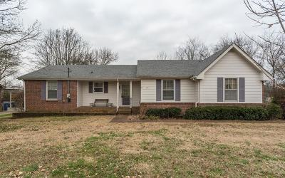 Goodlettsville Single Family Home Under Contract - Showing: 391 Caldwell Dr