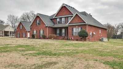 Murfreesboro Single Family Home Under Contract - Not Showing: 7920 Powells Chapel Rd