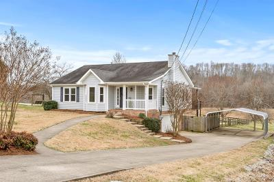 Clarksville Single Family Home Under Contract - Not Showing: 714 W Creek Drive