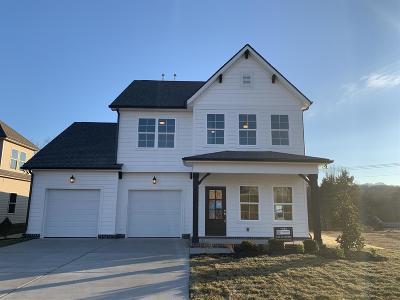 Smyrna Single Family Home For Sale: 5711 Hidden Creek