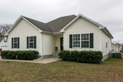 Clarksville Single Family Home Under Contract - Showing: 303 Chalet Cir