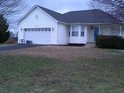 Spring Hill Single Family Home For Sale: 572 White Oak Trl