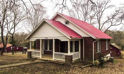 Dickson Single Family Home Under Contract - Showing: 676 Mount Lebanon Rd