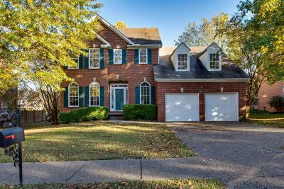 Nashville Single Family Home For Sale: 805 Meadow Ridge Ct