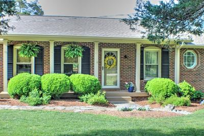 Nolensville Single Family Home Under Contract - Showing: 2345 Rocky Fork Rd