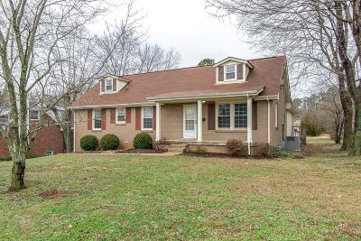 Hermitage Single Family Home Under Contract - Not Showing: 4440 Andrew Jackson Pkwy