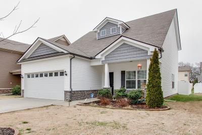 Murfreesboro Single Family Home For Sale: 2426 Salem Glen Xing