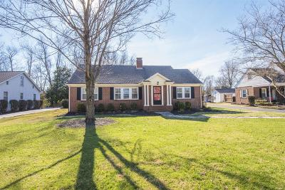 Murfreesboro Single Family Home Under Contract - Not Showing: 1308 Richland Pl