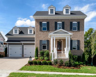 Franklin TN Single Family Home For Sale: $717,890