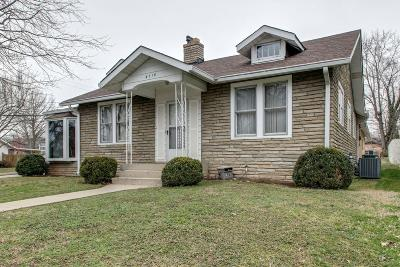 Nashville Multi Family Home Under Contract - Not Showing: 4710 Nebraska Ave