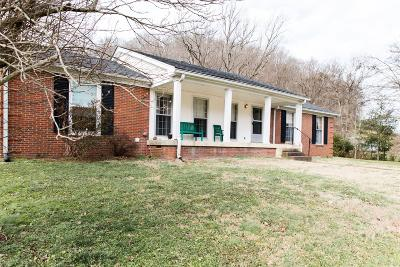 Nashville Single Family Home For Sale: 7500 Buffalo Rd