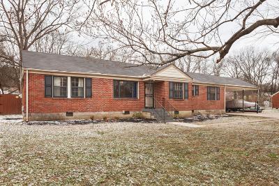Nashville Single Family Home For Sale: 915 Drummond Dr