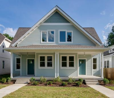Nashville Single Family Home For Sale: 714 B Shelby Ave
