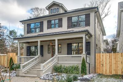 Nashville Single Family Home For Sale: 1913 A Lombardy Ave