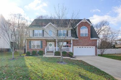 Clarksville Single Family Home For Sale: 462 Winding Bluff Way