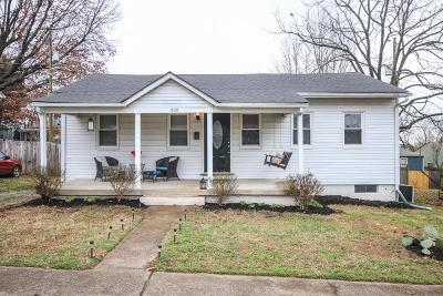 Old Hickory Single Family Home Under Contract - Showing: 505 Lawrence St