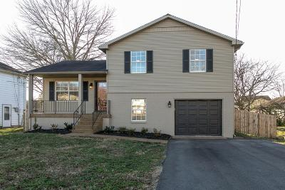 Franklin Single Family Home Under Contract - Showing: 107 Powder Mill Dr