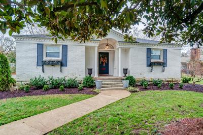 Franklin Single Family Home For Sale: 1407 Cannon Street