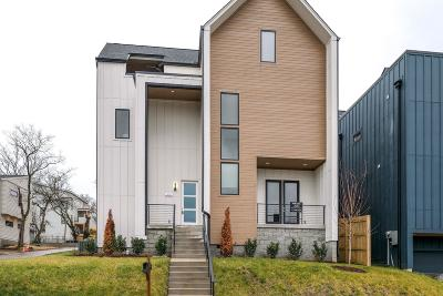 Nashville Single Family Home Under Contract - Showing: 1428 11th Ave South