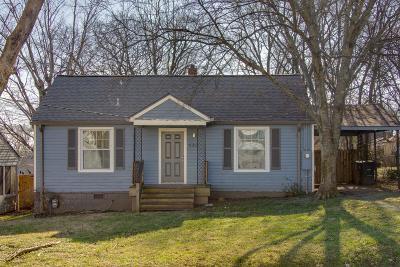 Brentwood, Franklin, Nashville, Nolensville, Old Hickory, Whites Creek, Burns, Charlotte, Dickson Single Family Home For Sale: 940 Chickasaw Ave