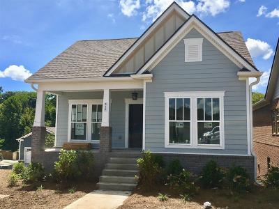 Brentwood, Franklin, Nashville, Nolensville, Old Hickory, Whites Creek, Burns, Charlotte, Dickson Single Family Home For Sale: 517 Pleasant Street #131