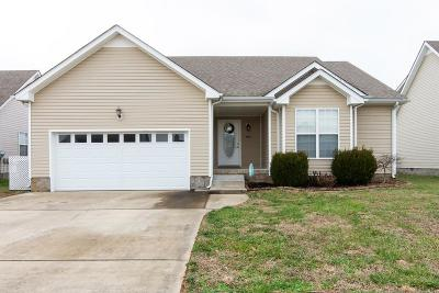 Clarksville TN Single Family Home For Sale: $163,500