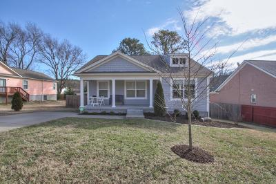 Franklin Single Family Home Under Contract - Showing: 108 Bradford Dr