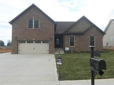 Clarksville Single Family Home Under Contract - Showing: 448 Autumnwood Farms
