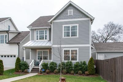 Nashville Single Family Home For Sale: 1403 N 54th Ave
