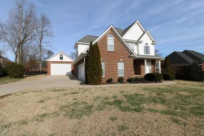 Smyrna Single Family Home For Sale: 2106 Woodcliff Dr