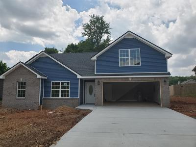 Clarksville TN Single Family Home Under Contract - Showing: $199,900