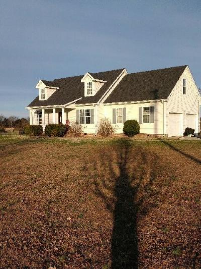 Shelbyville Single Family Home For Sale: 411 Adams Rd